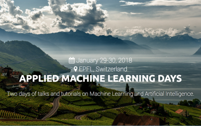 Martin Jaggi Co-chairs Applied Machine Learning Days