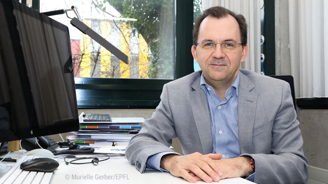 Edouard Bugnion to Play Key Role in EPFL-ICRC Alliance