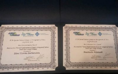 Student-teacher Duo from EPFL Wins Best Demonstration Award at SIGMOD 2018