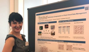 Mirjana Pavlovic, a senior Ph.D. student, and Anastasia Ailamaki, Professor and Director of DIAS Lab at EPFL, won the distinction for their paper - Dictionary Compression in Point Cloud Data Management.