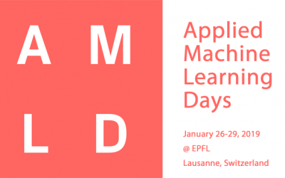 AMLD 2019 Presents Domain Tracks on AI