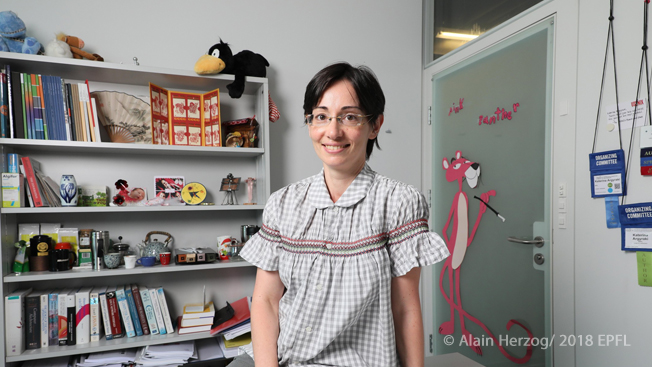 Katerina Argyraki, a tenure-track assistant professor who has been teaching at EPFL for six years, has been named best teacher in the Computing and Communication Systems section.