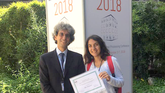 Mira Rizkallah Wins Eurasip Best Student Paper Award
