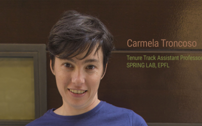 Carmela Troncoso Wins Google Honor