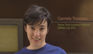 Carmela Troncoso, tenure-track assistant professor in the EPFL School of Computer and Communication Sciences (IC)