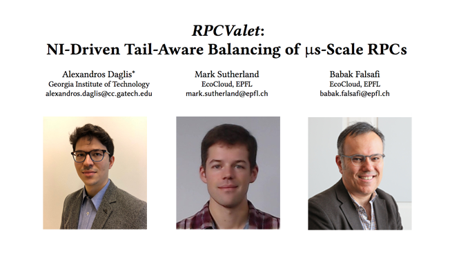 Picture of RPC Valet Paper with the authors.