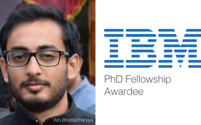 Atri Bhattacharyya Awarded IBM Ph.D. Fellowship