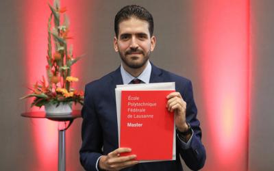 Hédi Fendri Wins OMEGA Prize Student Award